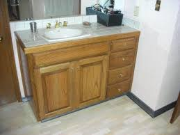 bathroom cabinet refacing before and after. Vanity Cabinet Refacing (Before) Bathroom Before And After
