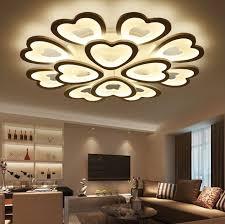 false ceiling in flower design