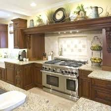 decorating above cabinets photo 3 of 9 best above cabinet decor ideas on above kitchen cabinets