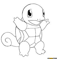 Pokemon Squirtle Coloring Pages Unique To Print X Pixels Colouring