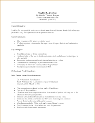 Assistant Resume Examples For Dental Assistant