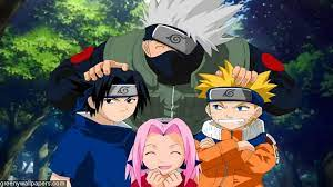 High Resolution Naruto Team 7 Wallpaper ...