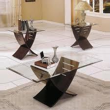 steve silver company cafe 3 piece coffee table set in espresso