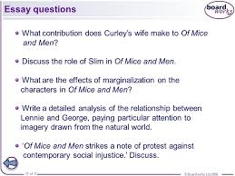 Of Mice And Men Friendship Essay Of Mice And Men Friendship And Lonliness Essay Free Papers And