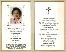 Memorial Announcement Cards Funeral Invitation Card Celebration Of Life Invitation Floral