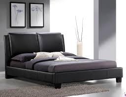 faux leather platform bed. Brilliant Leather Roggan Complete Brown Platform Bed In Faux Leather Brown By Primo In Faux Leather Platform Bed Sleep Mart