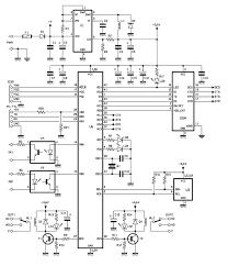 gsm remote control 2 in and 2 out part 2 schematic part 2 2 in and 2 out schematic diagram