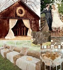 rustic wedding ideas country barn