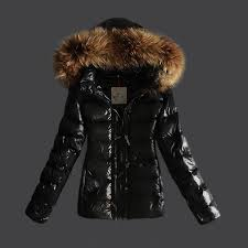Buy Moncler Jackets For Women Black With Fur Cap And Waistband,moncler polo  shirts,prestigious