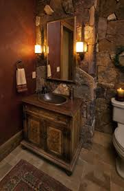 Rustic Bathroom Vanities And Sinks Bathroom Mosaic Tile Wall Rustic Vanities And Cabinets Wooden