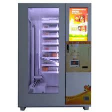 Pancake Vending Machine Magnificent Pancake And Pizza Dispenser With LiftVending Machine Manufacturer