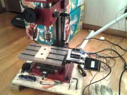 harbor freight mini mill. harbor freight micro mill with arduino mini