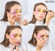 3 easy carnival makeup tutorials mime cat and tribal princess makeup 10 10