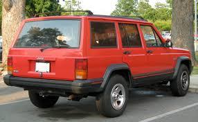 file jeep cheroee xj red 4 door jpg