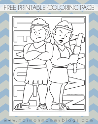 Small Picture book of mormon pictures to color Free LDS Coloring Pages Laman