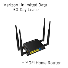 details about verizon unlimited data 4g lte mofi home internet router 30 days included