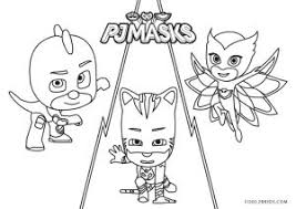 Contact pj masks coloring pages on messenger. Free Printable Pj Masks Coloring Pages For Kids