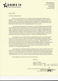 teacher letter of recommendation letter of recommendation from elementary school teacher susan k amad