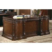 traditional home office executive desk in rich brown finish by coaster 800800 brown finish home office