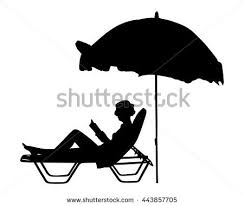 back of beach chair silhouette. Young Beautiful Woman Lying Down On Sun Bed Sofa Lounge Chair Holidays. Summer Luxury Back Of Beach Silhouette