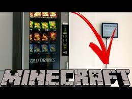 Fed X Gaming Vending Machine Best How To Make Vending Machine Minecraft Pe YouTube