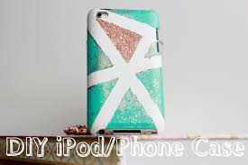 diy decorate your phone or ipod case karla medina you simple ideas design