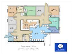 Modular Building Idea Gallery  JMO Mobile ModularDoctor Office Floor Plan