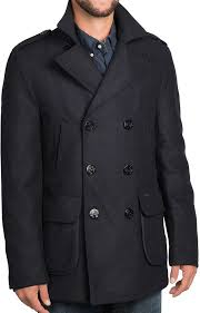 barbour duckpole double ted peacoat