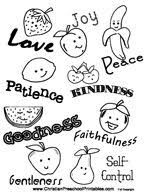 Exquisite Ideas Fruit Of The Spirit Coloring Page 10 Free Printable