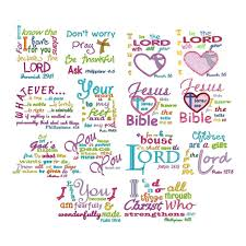 Free Machine Embroidery Sayings Designs Heavenly Inspirations Machine Embroidery Thread