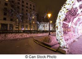 lighting decoration photos. New Year And Christmas Lighting Decoration Of The City -- The Light Tunnel  On Tverskoy Photos