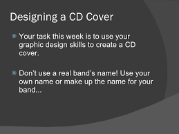 Graphic Design Creating A Cd Cover