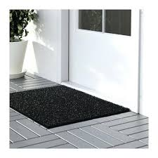 black door mat mats indoor