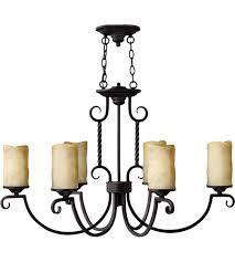 hinkley 3508ol casa 6 light 36 inch olde black chandelier ceiling light oval