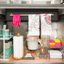 Under The Kitchen Sink Storage A Dozen Genius Ways To Organize Under The Sink Creative Under