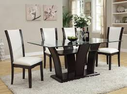 malik contemporary dining table by acme furniture