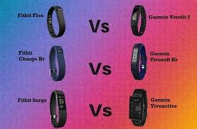 Fitbit Vs Garmin The Best Fitness Trackers And Bands Compared