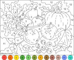 Color Number Coloring Pages Absolutely Smart Free Printable Color By
