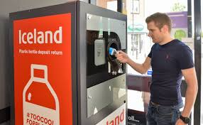 Reverse Vending Machine Uk Mesmerizing Iceland Becomes First UK Retailer To Trial Deposit Return Machine