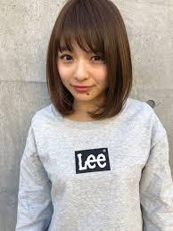 ミディアム Hair In 2019 ヘアスタイル ショートボブ 髪型