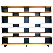contemporary bookcase and shelves plain bookcase