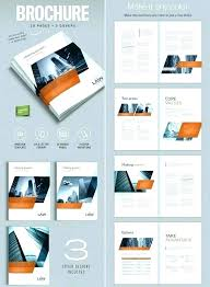 2 Folded Brochure Template 6 Page Brochure Template Word Sample Templates One Word 2