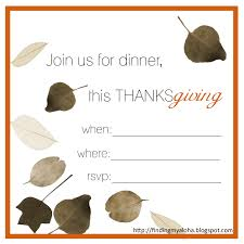 thanksgiving invitations templates crafty celebration this finding my aloha 2011 39 s thanksgiving invitations printable