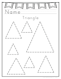 Triangle Coloring Page Triangle Coloring Page Coloring Pages Of ...