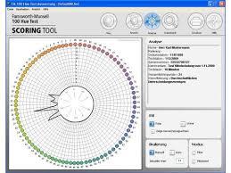Munsell Color Chart Test Fm 100 Hue Test Scoring Software Download