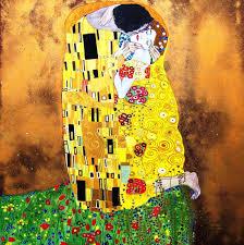 Il Bacio di Klimt | Klimt paintings, Klimt, Gustav klimt