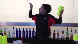 Ivan Grant - Flair Bartender - YouTube
