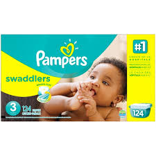 pampers swaddlers size 2 132 count pampers swaddlers pampers swaddlers diapers size 3 124 count diapers