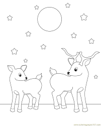 Deer Coloring Pages For Adults Go