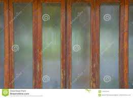 gl door frame old wood stock photo image of architecture 119747370